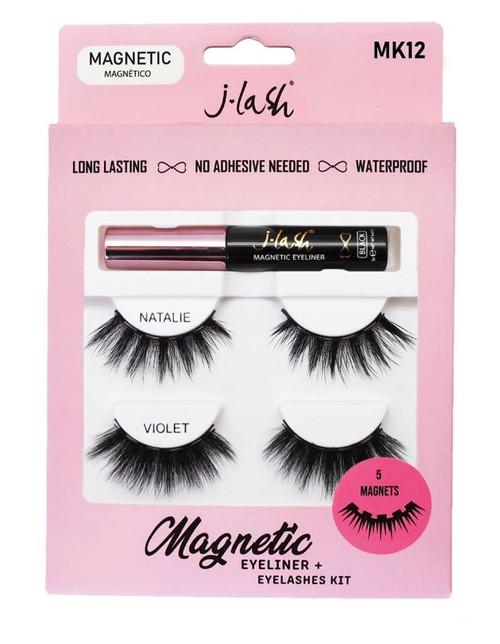 J Lash Magnetic Eyeliner & Lash Kit - Natalie & Violet