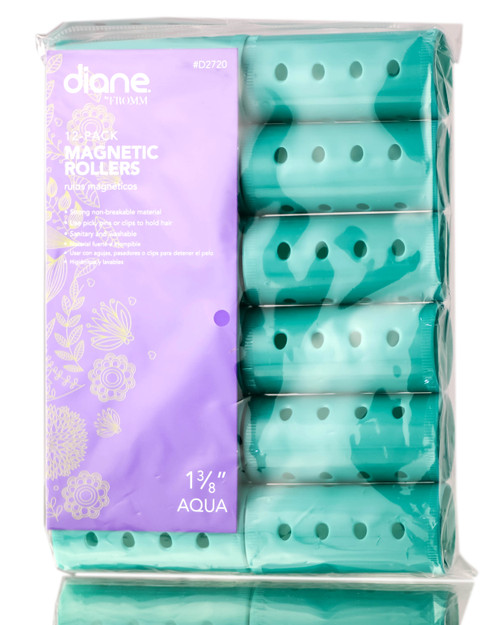 Diane Aqua Magnetic Rollers
