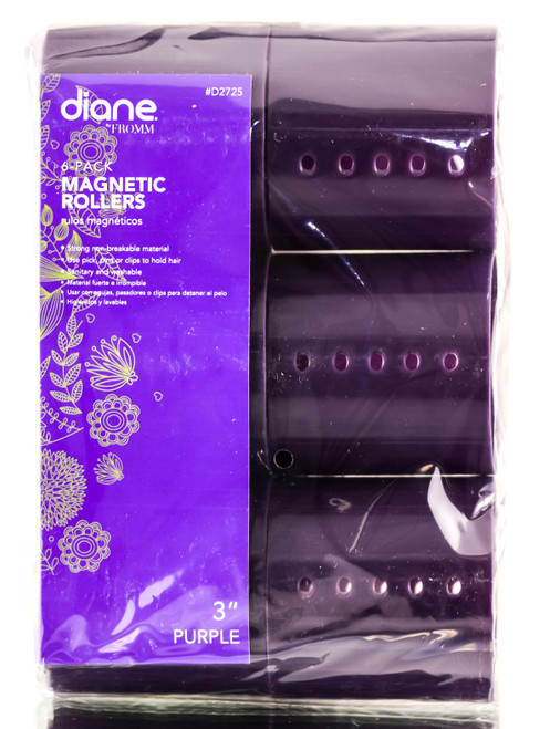 Diane Purple Magnetic Rollers