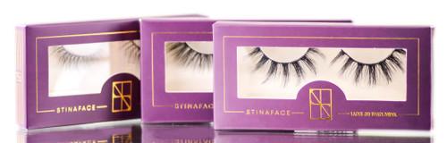 StinaFace Luxe 3D Faux Mink Lashes