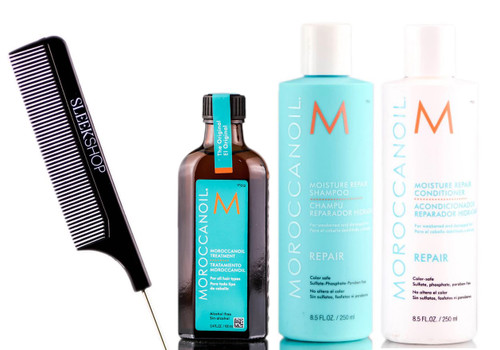 MoroccanOil Moisture Repair 4 PC Set
