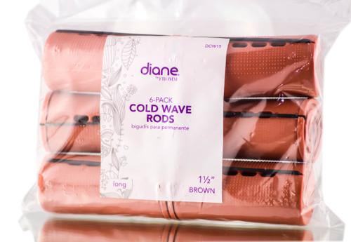 Diane Brown 6 pc Cold Wave Rods
