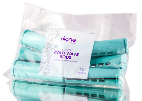 Diane 6PC Green Cold Wave Rods