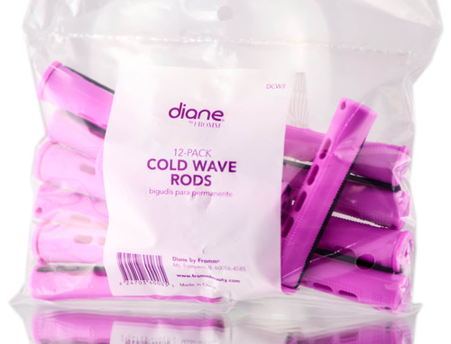 Diane 12 PC Orchid Cold Wave Rods
