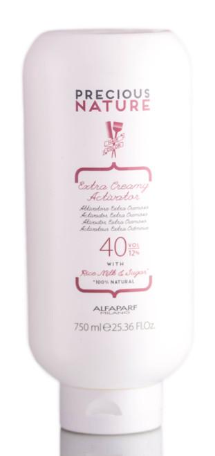 Alfaparf Precious Nature Extra Creamy Activator 40 Volume / 12%