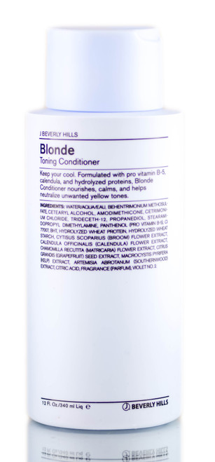J Beverly Hills Blonde Toning Conditioner