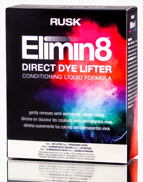 Rusk Elimin8 Direct Dye Lifter Conditioning Liquid Formula Kit
