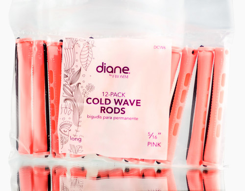 Diane 12 PC Pink Cold Wave Rods