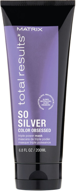 Matrix Total Results So Silver Color Obsessed Triple Power Mask