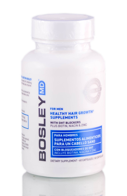 Bosley MD Healthy Men Hair Growth Supplements