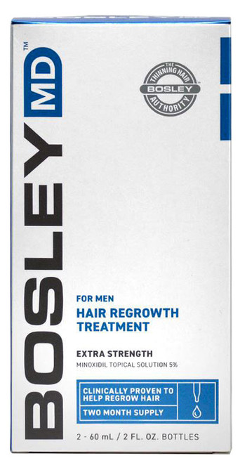 Bosley MD Men Hair Re-growth Treatment (Extra Strength)
