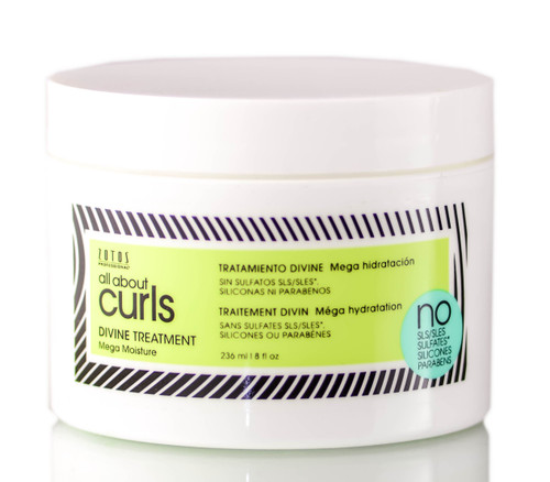 Zotos All About Curls Divine Treatment