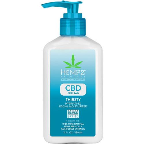 Hempz CBD Thirsty Hydrating Facial Moisturizer