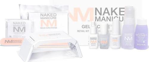 Zoya Naked Manicure Gelie-Cure Retail Kit