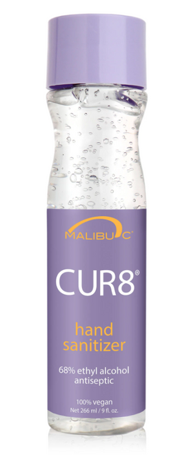 Malibu C CUR8 Hand Sanitizer