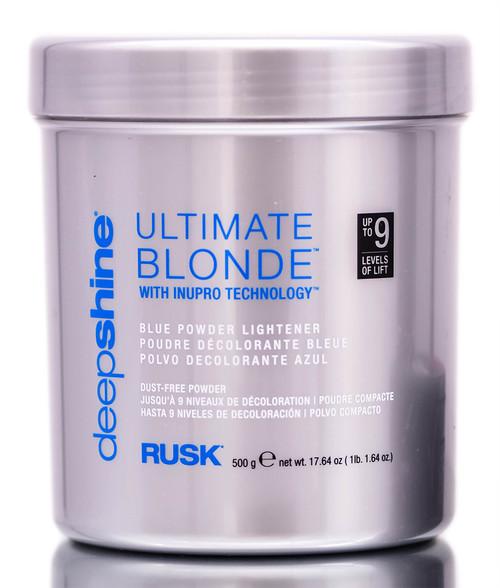 Rusk DeepShine Ultimate Blonde Blue Powder Lightener