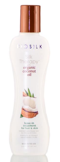 Biosilk Silk Therapy Organic Coconut Oil Leave-In Treatment