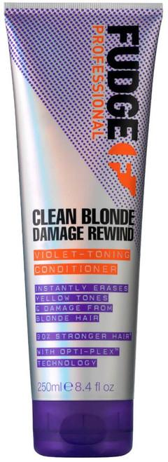 Fudge Clean Blonde Damage Rewind Violet-Toning Conditioner