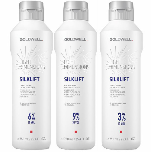 Goldwell Light Dimensions Silklift Conditioning Cream Developer - 25.4 oz