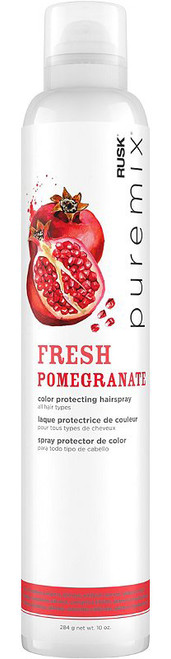 Rusk Puremix Fresh Pomegranate Color Protecting Hairspray