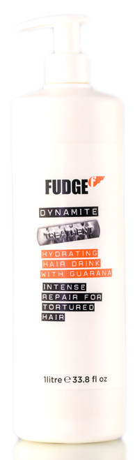 Fudge Dynamite Hydrating Hair Drink With Guarana Intense Repair for Tortured Hair