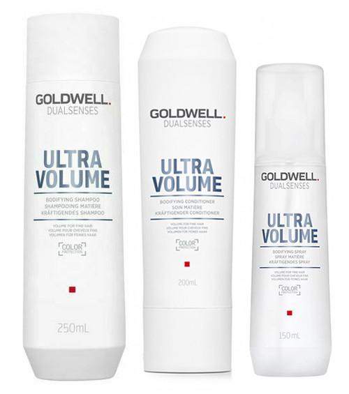Goldwell Dualsenses Ultra Volume Bodifying Shampoo & Conditioner & Spray