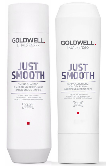 Goldwell Kit -Dualsenses Just Smooth Taming Shampoo & Conditioner