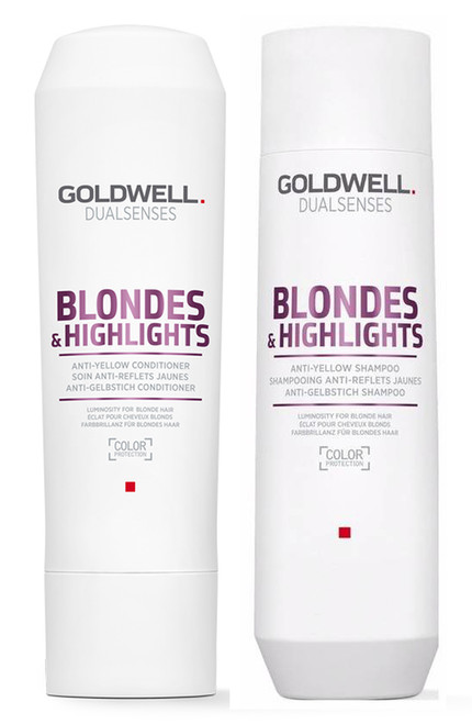 Goldwell Kit -Dualsenses Blonde and Highlights Anti-Yellow Shampoo & Conditioner
