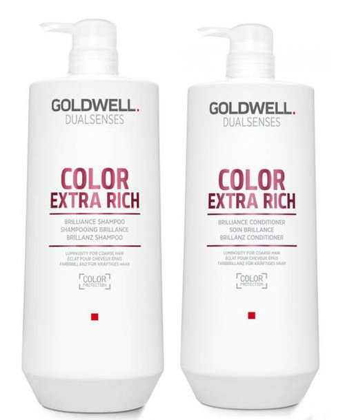 Goldwell Kit -Dualsenses Color Extra Rich Brilliance Shampoo & Conditioner