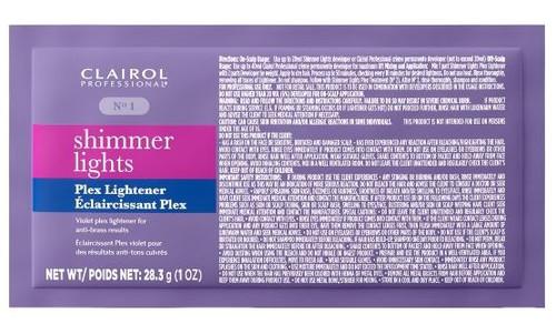 Clairol Professional Shimmer Lights Violet Plex Lightener