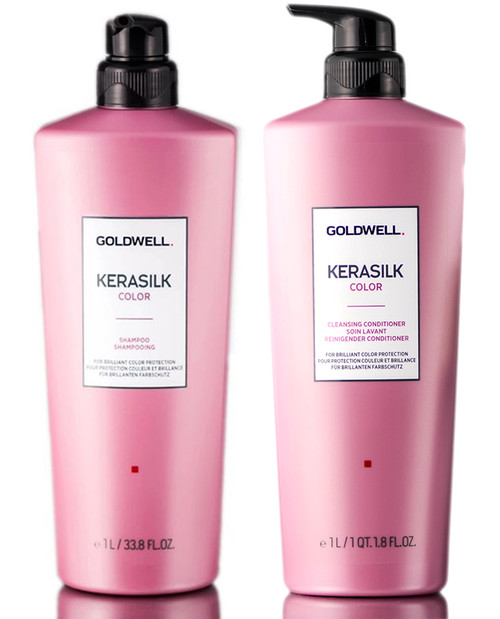 Goldwell Kerasilk Color Shampoo & Cleansing Conditioner