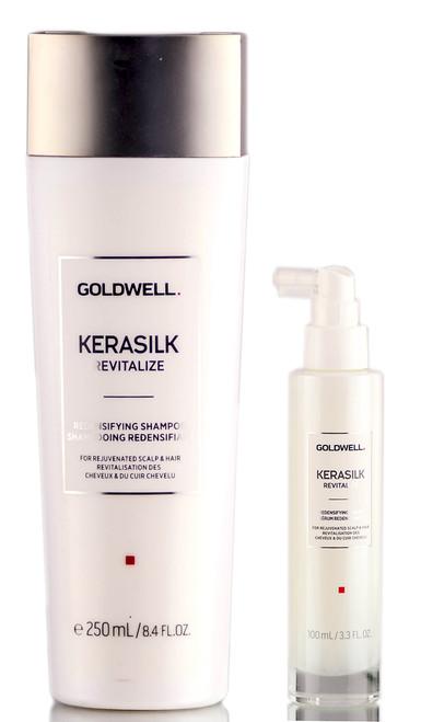 Goldwell Kerasilk Revitalize Redensifying Shampoo & Redensifying Serum