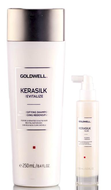 Goldwell Kerasilk Revitalize Redensifying Shampoo & Nourishing Serum