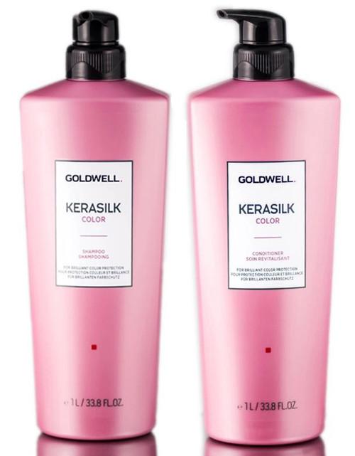 Goldwell Kerasilk Color Shampoo & Conditioner