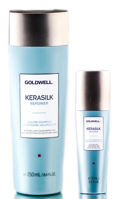 Goldwell Kerasilk Repower Volume Shampoo & Plumping Cream