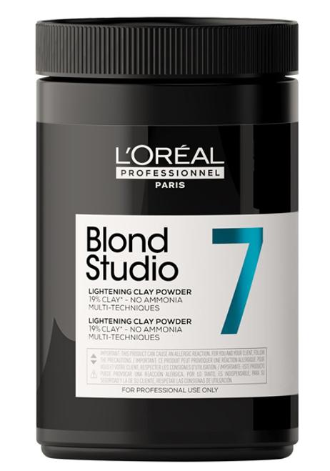 L'Oreal Blond Studio 7 Lightening Clay Powder