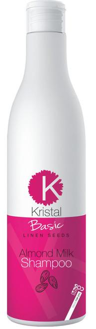 Kristal Basic Linen Seeds Almond Milk Shampoo