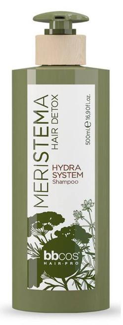 BBcos Meristema Hair Detox Hydra System Shampoo