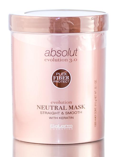 Salerm Absolut Evolution 3.0 Keratin Straight & Smooth Neutral Mask