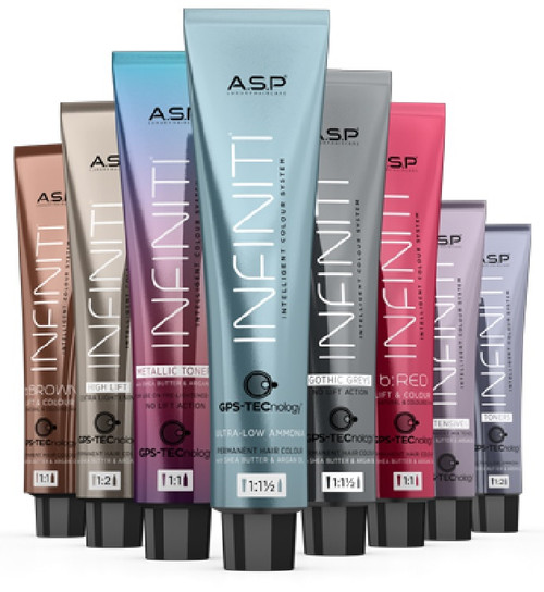 Affinage ASP Infiniti Ultra-Low Ammonia Permanent Hair Color Dye (3.4 oz)