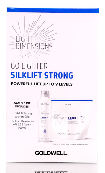 Goldwell Light Dimensions Go Lighter Silklift Strong Sample Kit