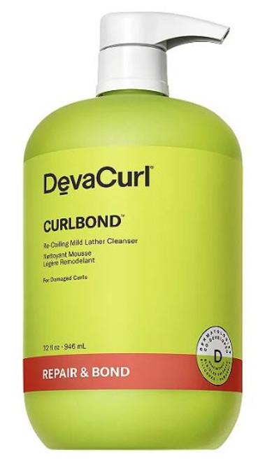 DevaCurl CurlBond Re-Coiling Mild Lather Cleanser