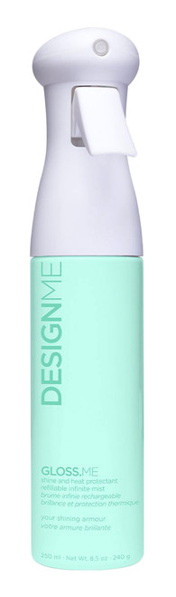 Design.Me Gloss.Me Shine and Heat Protectant Spray