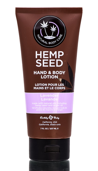 Earthly Body Marrakesh Lavender Hemp Seed Hand & Body Lotion