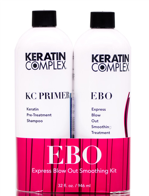 Keratin Complex Express Blow Out Smoothing Duo Kit