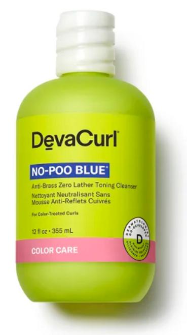 DevaCurl No-Poo Blue