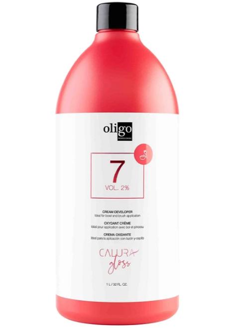 Oligo Calura Gloss 7 Vol 2% Cream Developer