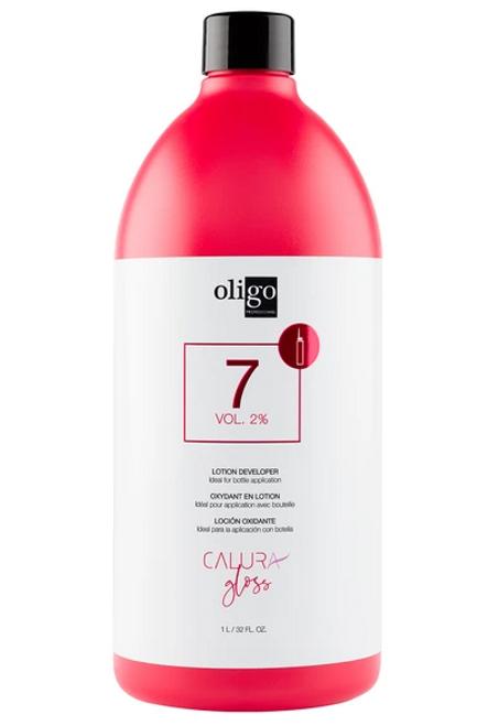 Oligo Calura Gloss 7 Vol 2% Lotion Developer