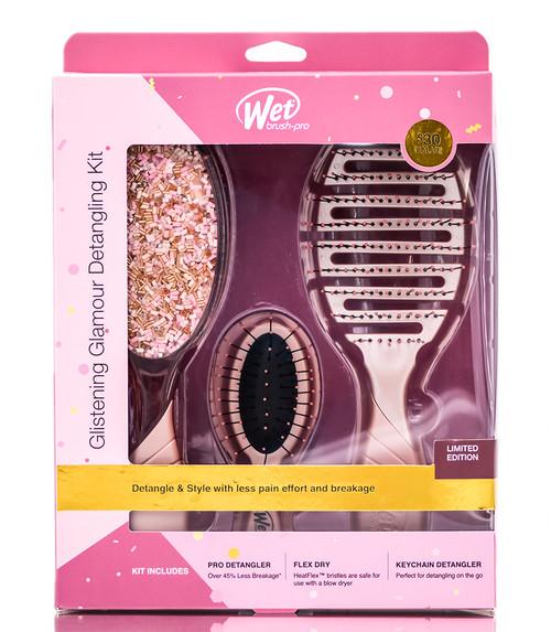 The Wet Brush Glistening Glamour Detangling Kit