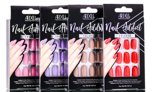 Ardell Nail Addict Colored Artificial Nail Set